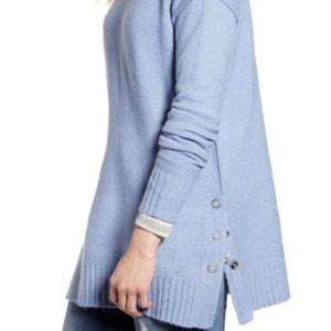💓 Caslon side snap tunic sweater